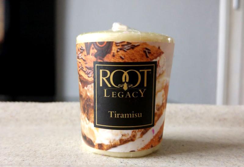Root Candle Tiramisu
