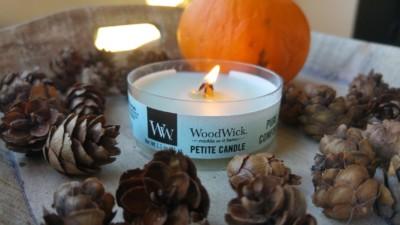 WoodWick petite candle
