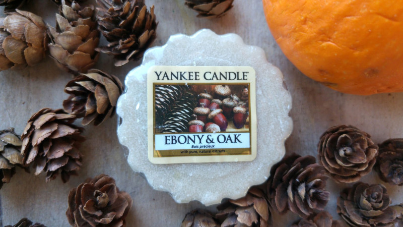 Yankee Candle Ebony & Oak