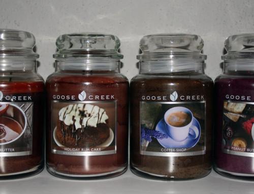 Mijn Goose Creek Candle verzameling